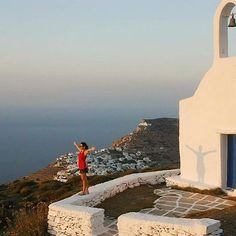 "Amazing sense of nature , at Sikinos island (Σίκινος). ""Touch the sky"" with stunning view !"