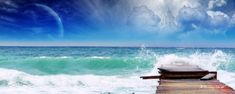 Dreamy Digital Landscape wallpapers - Dual screen Wallpapers - NO. World Wallpaper, Beach Wallpaper, Nature Wallpaper, Wallpaper Wallpapers, Landscape Wallpapers, Virginia Beach Boardwalk, Dual Screen Wallpaper, Download Wallpaper Hd, Beautiful Beaches