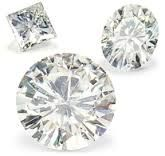 Moissanite is a great alternative to diamonds. Moissanite is created as perfect – no inclusions, no cloudiness, no worries