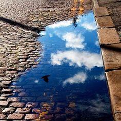 Sous les pavés...le ciel de Paris !