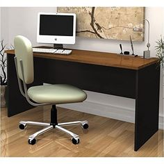 Bestar Innova Peninsula Computer DeskTuscany Brown *** You can find out more details at the link of the image.Note:It is affiliate link to Amazon.