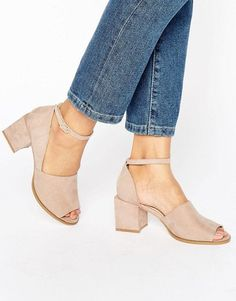 Discover the latest fashion trends with ASOS. Shop the new collection of clothing, footwear, accessories, beauty products and more. Order today from ASOS. Sock Shoes, Cute Shoes, Me Too Shoes, Shoe Boots, Shoes Heels, Prom Shoes, Heeled Sandals, Latest Fashion Clothes, Look Fashion