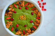 [Almost] Spring Smoothie Bowl