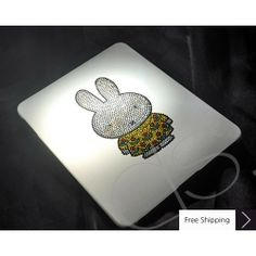 cute ipad cases bags | ... > Crystal iPad Cases > Cute Miffy Crystallized Swarovski iPad Case