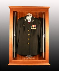 Simply awesome! Military Uniform Display Case - ouch on the price
