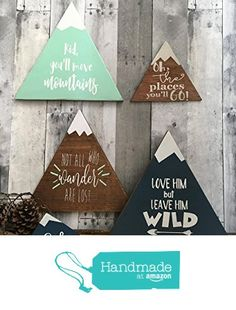 New Mountain Wood Art Lost 29 Ideas Baby Nursery Themes, Nursery Signs, Baby Boy Rooms, Baby Boy Nurseries, Baby Decor, Nursery Décor, Themed Nursery, Diy Wood Projects, Wood Crafts