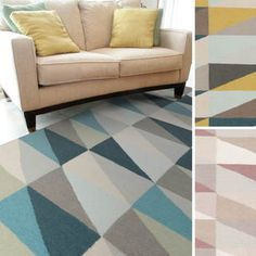 Bourges Flatweave Geometric Accent Rug (2' x 3') - Overstock™ Shopping - Great Deals on Accent Rugs