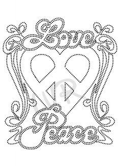 love peace hart
