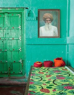 India, love the colors.