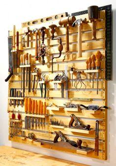 Designerski garaż - nowoczesny organizer na narzędzia