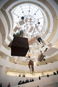 Maurizio Cattelan Retrospective (Guggenheim 2011) (1)