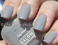Sally Hansen Eel Skin. This would make a good winter color.