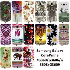 For Samsung Galaxy Core Prime SM-G360 G3606 G3608 Soft TPU Painted Case Cover #UnbrandedGeneric