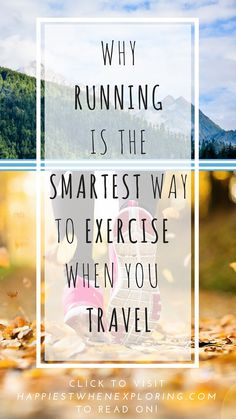Whether you choose to run with a group or on your own, running is the ideal way to exercise when you travel to take in the sights and the magic. Travel Tips, Travel Destinations, How To Stay Healthy, Exploring, Traveling By Yourself, Magic, Exercise, Running, Group