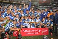 CURRIE CUP - La Western Province a remporté la Currie Cup en battant les Golden Lions (19-16). Top 14, Rugby, Westerns, Champs, Baseball Cards, Sports, Hs Sports, Sport, Football