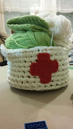 Ensiapu kori :) Red Cross, Beanie, Throw Pillows, Hats, Toss Pillows, Cushions, Hat, Decorative Pillows, Beanies