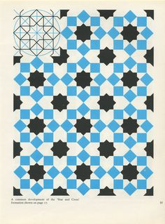 Pattern in Islamic Art - PIA 035 moorish arabesque moroccan muslim geometric tile design Geometric Patterns, Geometric Tiles, Geometric Designs, Textures Patterns, Geometric Shapes, Islamic Art Pattern, Arabic Pattern, Pattern Art, Pattern Design