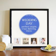 Shop Personalised Occasion Blue Plaque Box Frames at Instajunction. Shop our massive range of personalised apparel, photo gifts and accessories, all with international shipping. 3d Box Frames, Wedding Gifts, Wedding Day, Wooden Coasters, Unique Birthday Gifts, Photo Magnets, Small Boxes, Holiday Photos, Personalized Gifts