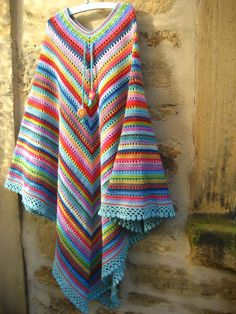 love the colors poncho lindiiisimo