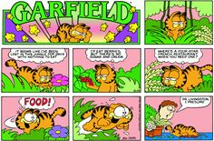 Garfield | Daily Comic Strip on August 29th, 1982