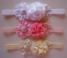 Bedroom: 11 Cozy Weighted Blankets DIY Ideas And Projects Bow Hairband, Rosette Headband, Flower Girl Headbands, Newborn Headbands, Ribbon Hair Bows, Fabric Ribbon, Fabric Flowers, Boutique Hair Bows, Diy Hair Accessories