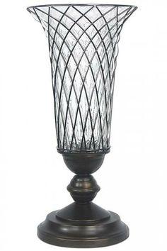 Bronze Orb Vase  Classic Elegance Comes Naturally with This Bronze Vase  Item # 13046 #HomeDecorators