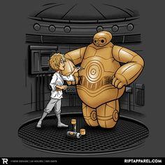 C-6PO - Star Wars / big hero 6 / C3PO / Luke Skywalker