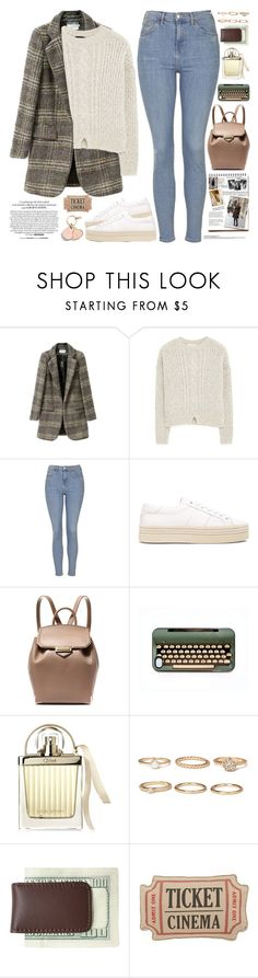 """""""2456. Small minds can't comprehend big spirits. To be great, you have to be willing to be mocked, hated, and misunderstood. Stay strong."""" by chocolatepumma ❤ liked on Polyvore featuring MANGO, Topshop, Yves Saint Laurent, Alexander Wang, Garance Doré, Chloé, Forever 21, Royce Leather, Levtex and Coach"""