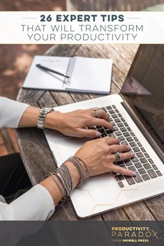 These 26 Expert Tips are some of my favorite productivity tips that I know can  transform and boost your productivity right away, even if you're feeling stressed and overwhelmed. Check out this post for all of the tips & tricks you can use each day to kee