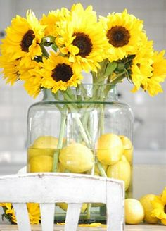 Pinterest Centerpieces | Lemon Centerpieces – Need some help : wedding centerpiece diy lemon ...