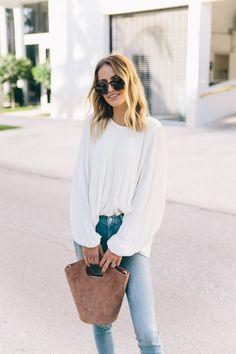Flowy blouse.