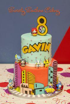 Yo Kai Watch Cake 9th Birthday Parties Lego 1st Birthdays