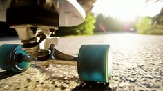 skateboarding - low angle -