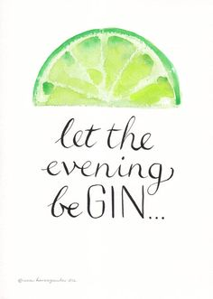 Personalised 'Let The Evening Be Gin' Print - Trinksprüche - Schnaps Gin Quotes, Sarcasm Quotes, Wisdom Quotes, Gifts For Gin Lovers, Gin Gifts, Inspirierender Text, Gin Festival, Its My Birthday Month, 21 Birthday