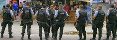 PMERJ Polícia Militar Estado do Rio de Janeiro (15º BPM) - Policial morre e outro fica ferido após troca de tiros em Duque de Caxias.