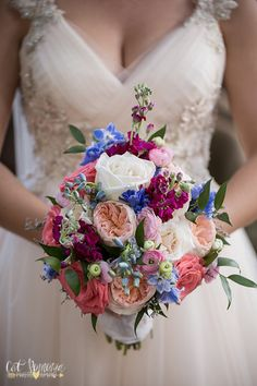 Garden bridal bouquet with Juliette roses etc by Flowers by Fudgie your Sarasota Wedding Florist Photo by _Cat Pennenga Photography
