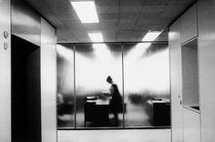 Erich Hartmann, Office worker, New York City, 1966 - http://snowce.tumblr.com/