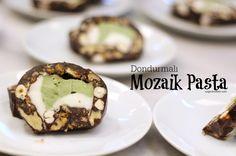 Dondurmalı Mozaik Pasta / Özge'nin Oltası