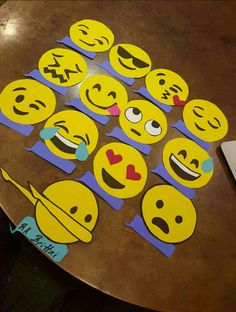 Emoji Themed Door Decs More