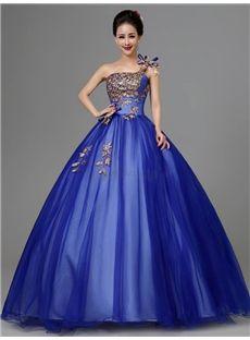 孔雀模様デザインの綺麗目ロングドレス 結婚式ドレス 披露宴ドレス
