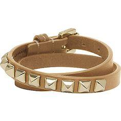 MULBERRY Eliza double wrap bracelet