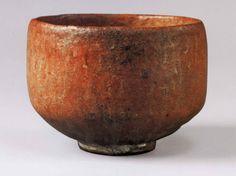 楽茶碗 長次郎・作 赤楽茶碗 銘「無一物」 red rakujawan by chojirou / 楽茶碗=濃茶