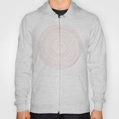 Re-Created Spin Painting No. 7 Hoody by #Robert #Lee - $38.00 #art #spin #painting #drawing #design #circle