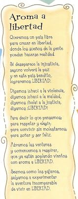 El rincon de la infancia: ♥25 De Mayo poesia (Aroma de libertad )♥