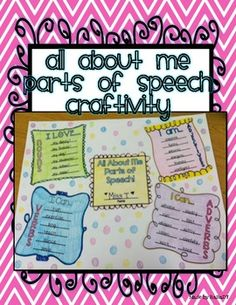 Nouns, Verbs, Adjectives, Adverbs