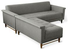 Gus Modern Harbord Loft Bisectional Sofa modern sectional sofas