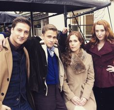 When Calls the Heart Season 2 (behind the scenes) Thorton brothers & Thatcher sisters. Why would Julie want to marry a man who got his self in jail