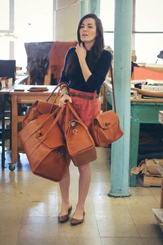 b70335f159 The preppiest - Frank Clegg Leatherworks Tuscany totes. Leather Bags  Handmade
