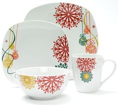 Stylish Christmas Dinnerware Sets for the Holidays | Christmas dinnerware sets Dinnerware and Holidays  sc 1 st  Pinterest & Stylish Christmas Dinnerware Sets for the Holidays | Christmas ...