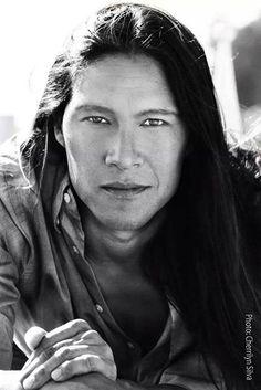 Rick Mora. Native American Actor And Model.
